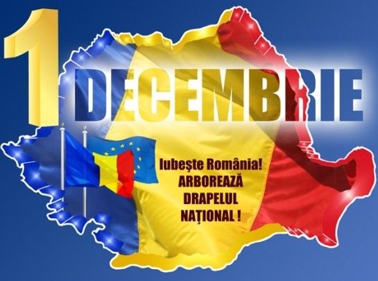 1 Decembrie, Ziua Nationala a Romaniei