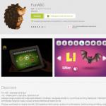 FunABC –  alfabetul român pe Android