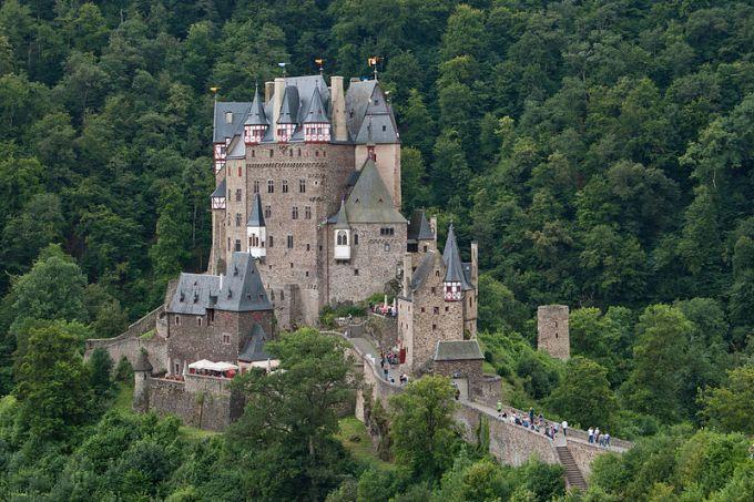 5 castele medievale - Burg Eltz