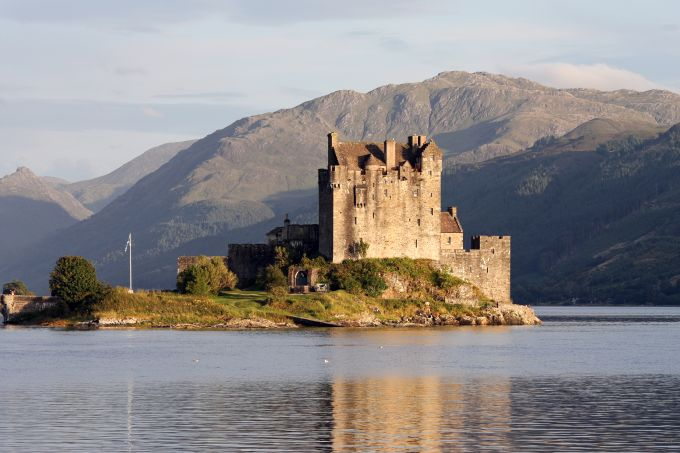 5 castele medievale - Eilean Donan