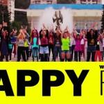 """Videoclipul """"Happy"""" în Reşiţa la final"""