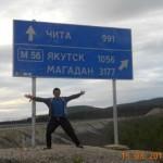 Siberia, spre Magadan - Înconjurul lumii cu autostopul de Timotei Rad