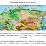 Înconjurul lumii cu autostopul - traseul prin Rusia si Mongolia