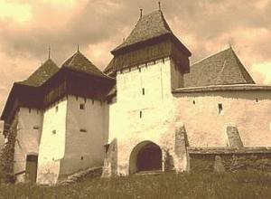 Cetatea din satul Viscri