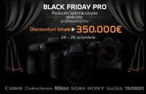Black Friday Pro pentru profesionisti