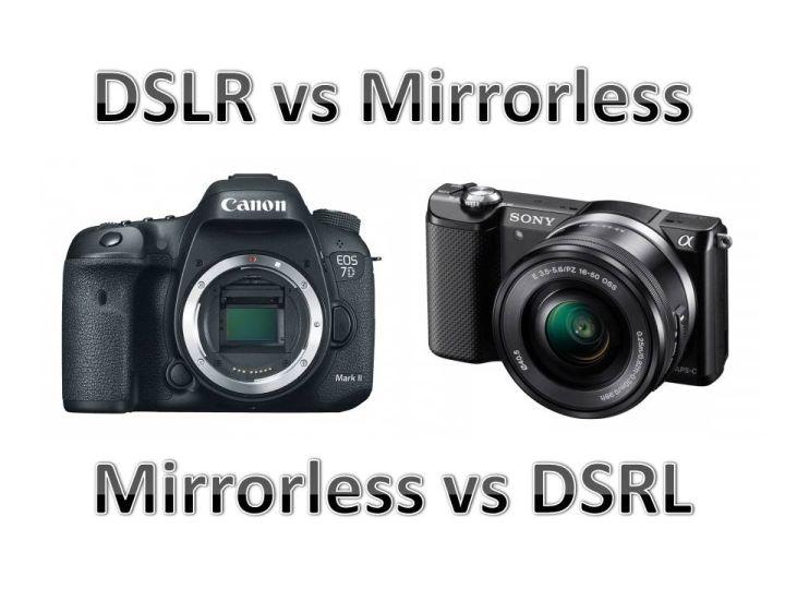 DSLR vs Mirrorless sau Mirrorless vs DSLR