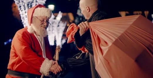 TRANSYLVANIA DRAGON l-a ajutat pe Moş Crăciun