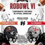 RoBowl VI – final de sezon în fotbalul american
