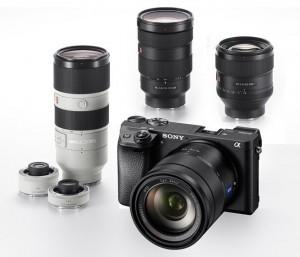 Sony A6300 plus câteva noi obiective
