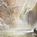 Cascada Bigar iarna