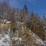 Cascada Carsa iarna