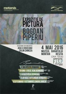 "Bogdan Piperiu – ""XPLORE MISTIC-ABSTRACT"""