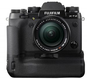 Fujifilm X-T2 cu grip