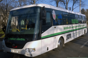 tramvai sau autobuz electric