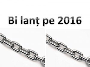 Bilanț pe 2016