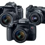 Canon a lansat încă trei noi modele de aparate de fotografiat