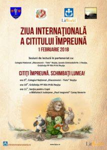 ZICI - Ziua Internaţională a Cititului Împreună