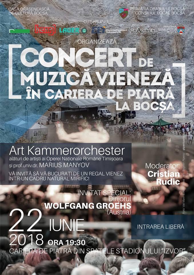"""""""Concert de muzică vieneză în carieră de piatră !"""""""