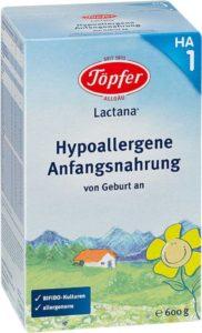 De ce e bun laptele praf Topfer?