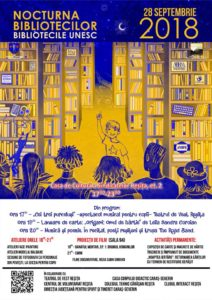 Nocturna Bibliotecilor Reșița 2018