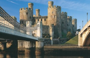 5 castele medievale - Conwy Castle