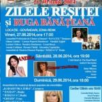 Zilele Reşiţei 2014 + ruga bănăţeană