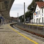 Gara Reşiţa Sud - peron