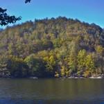 toamnă pe lac