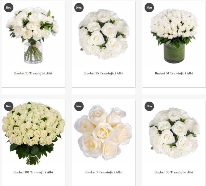 Trandafiri Florarie Online Bucuresti