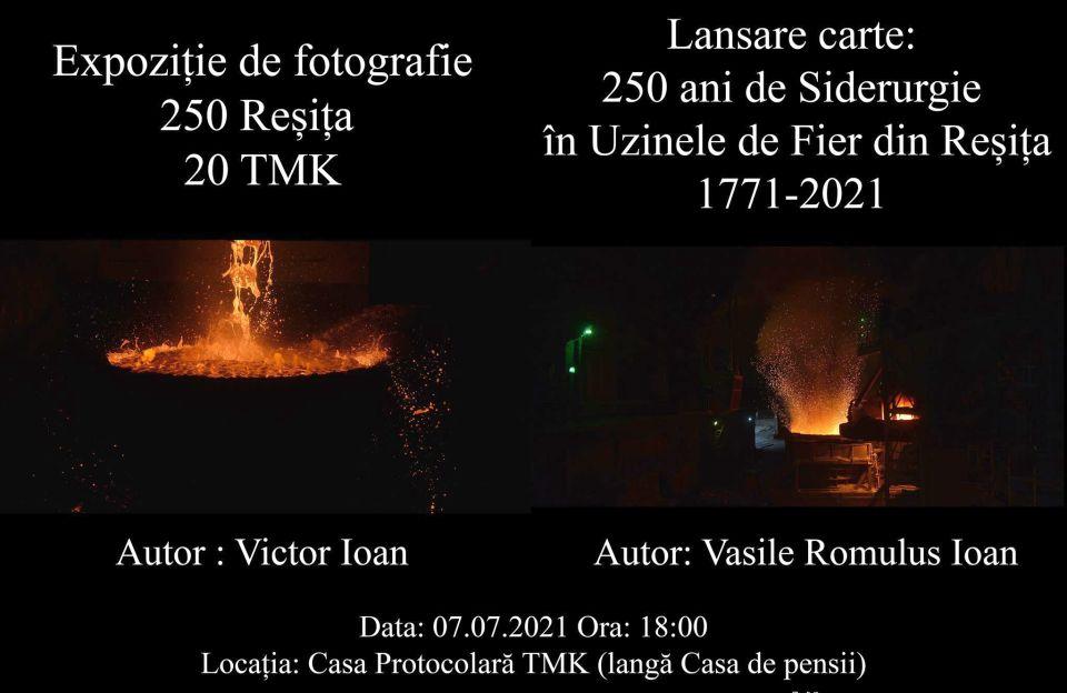 #REȘIȚA250 - Artă fotografică și Literatură la TMK Reșița